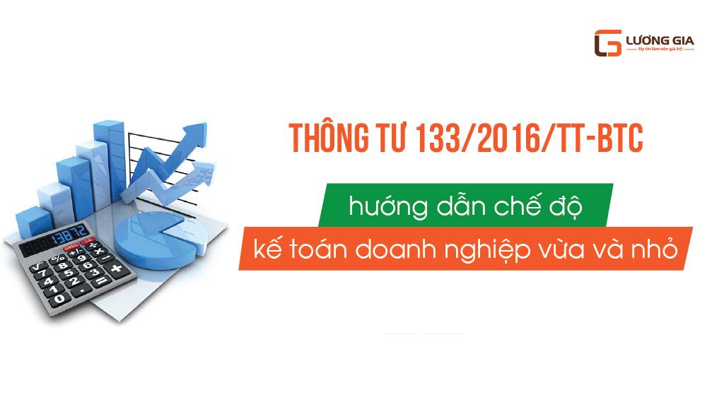Thông tư số 133/2016 Kế toán Lương Gia